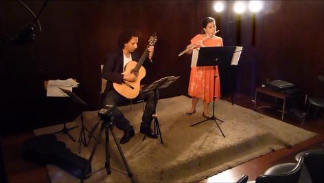 Duo Americas no Midrash Centro Cultural em 06 de Fev. 2012