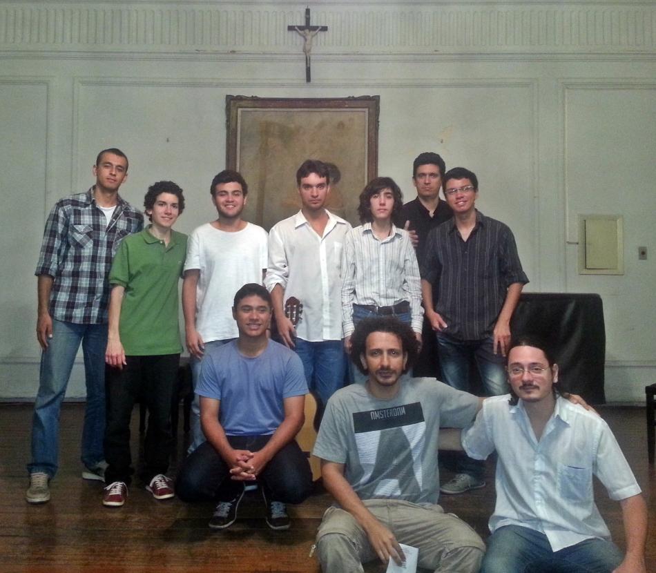 Foto: Recital dos alunos de violão da UFRJ