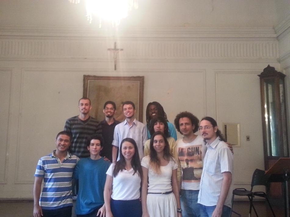 Após recital de alunos da UFRJ - 17.12.2013