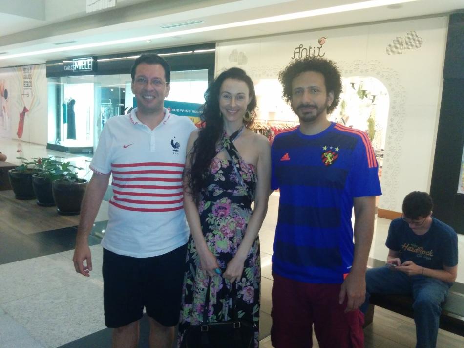 Foto Carlos Eduardo Andreia e eu Recife 2015