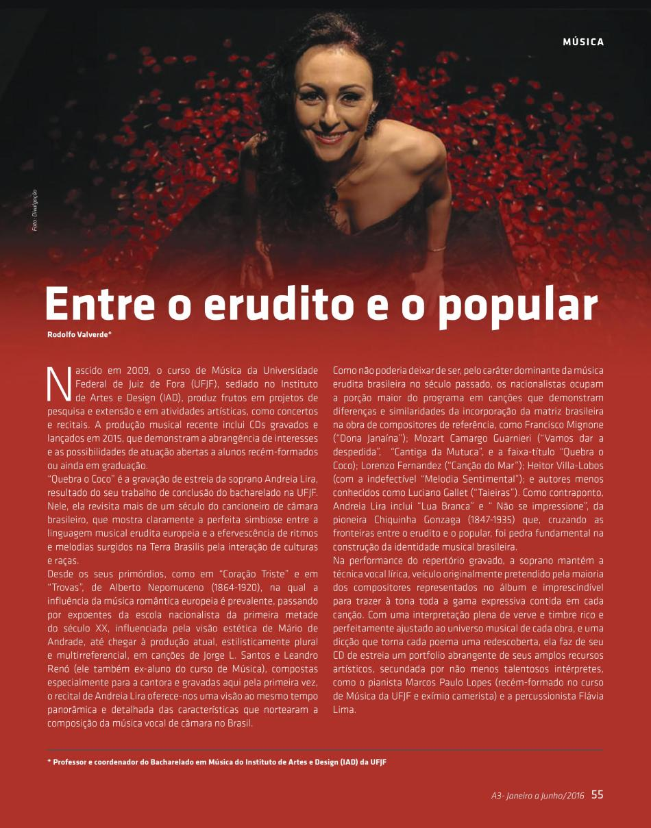 Artigo Andreia Lira Revista A3